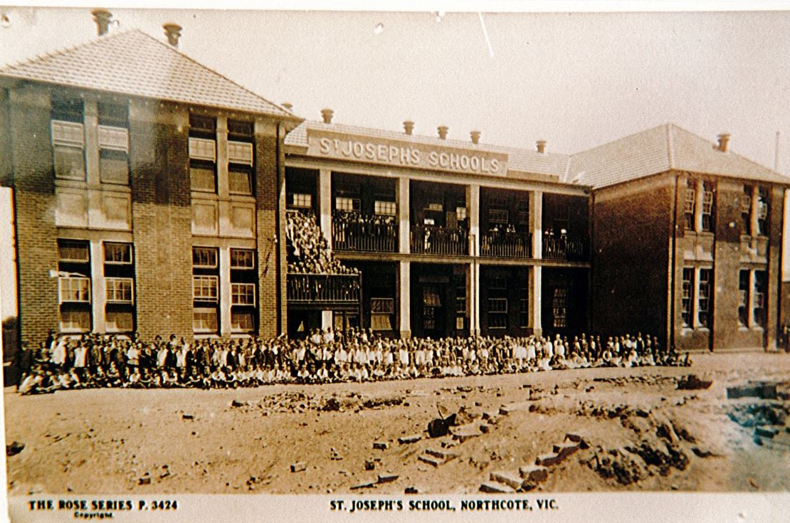 St Joseph's Primary School Northcote - Our History 4
