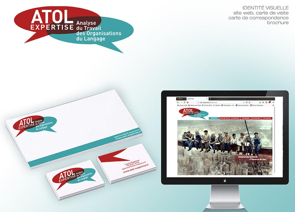 Portfolio 2019 atol identite visuelle WE