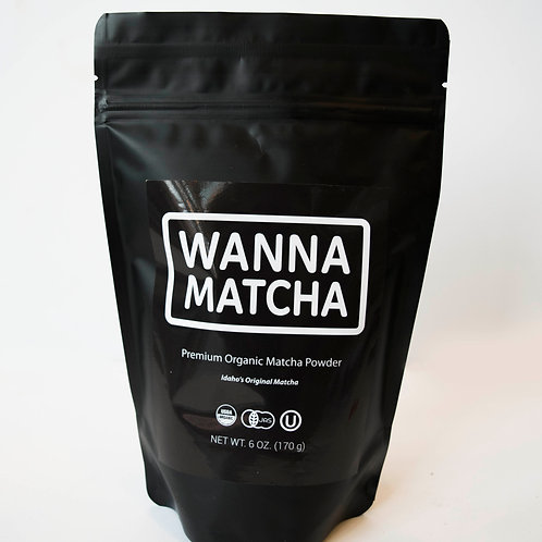 6 oz Premium Organic Matcha