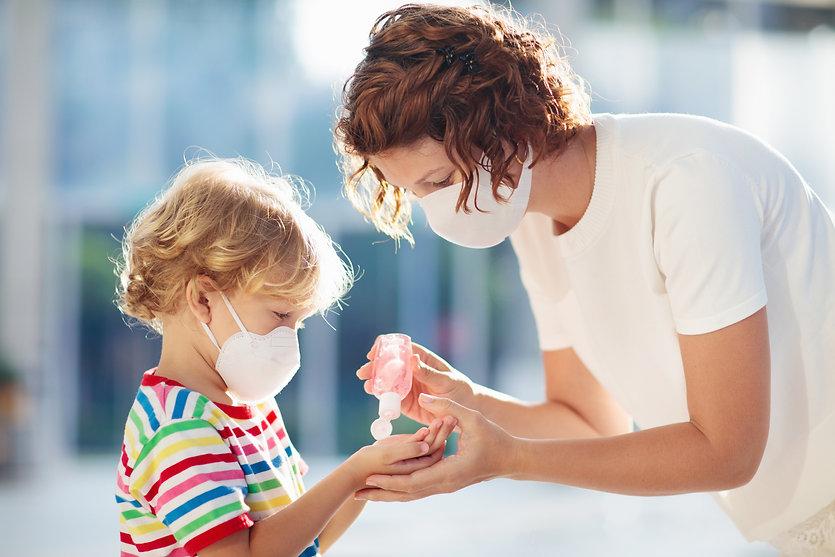 Hygieneschutzpaket Kindermaske Atmeschutzmaske für die Familie
