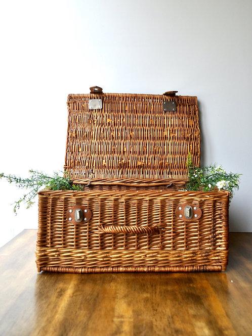 Wicker Picnic Basket- Card Box