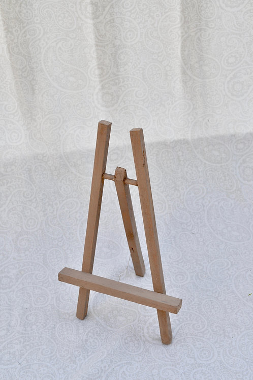 Tan Wood Easel
