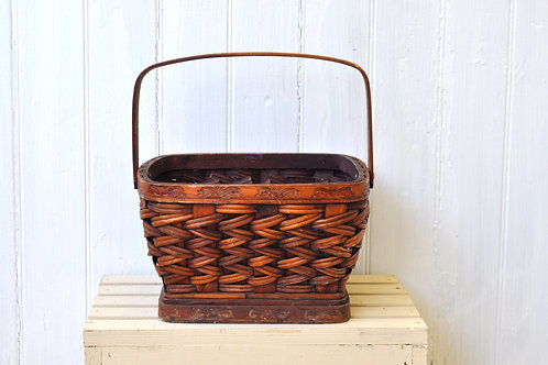 Brown Wicker Basket