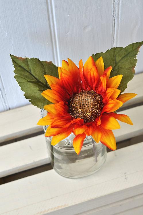 Yellow-Red Sunflowers