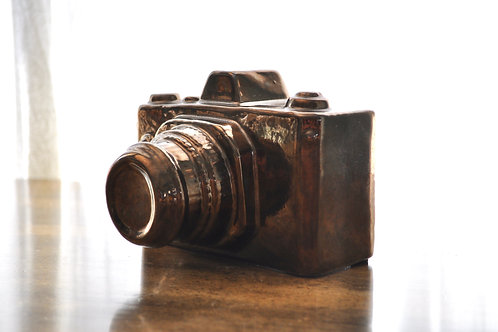 Copper Camera Decoration