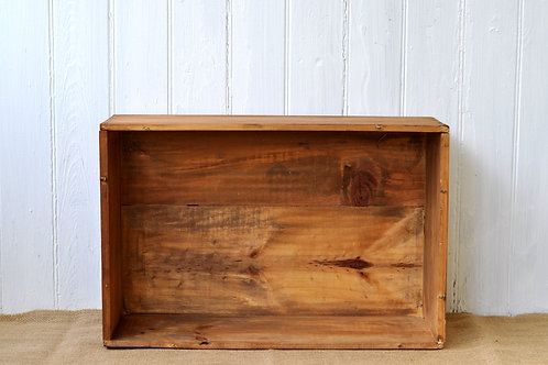 Tan Wine Crate