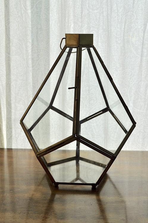 Gold Pentagon Lantern