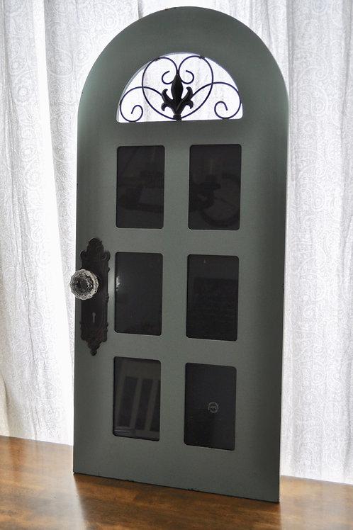 Deep Turquoise Frame Door