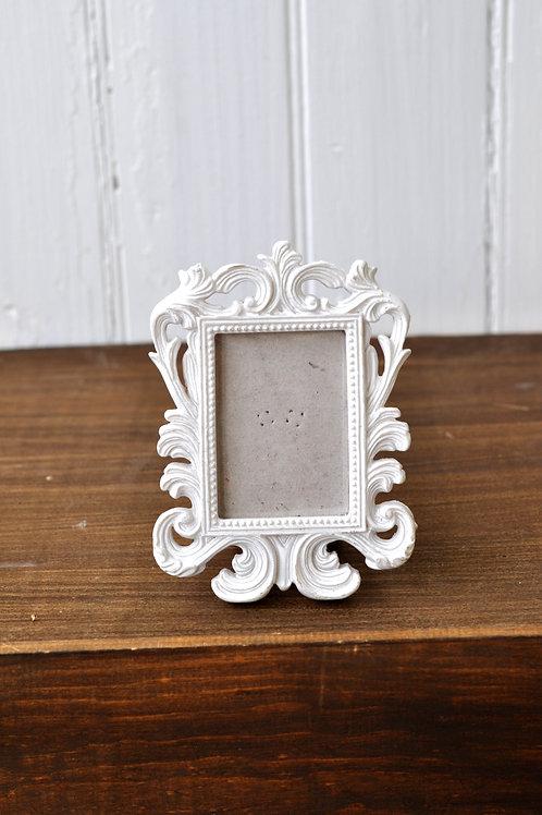 Small White Orante Frame