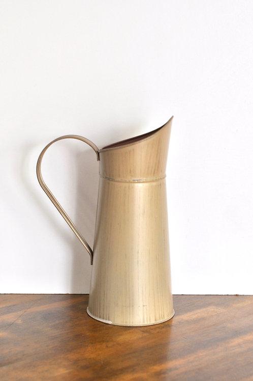 Tan Pitcher Vase