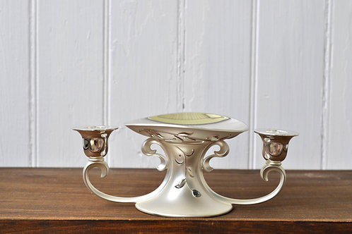 Silver Lenox Unity Candle Holder