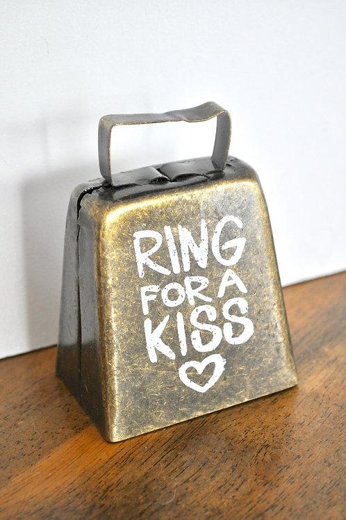 Bronze Kissing Bell