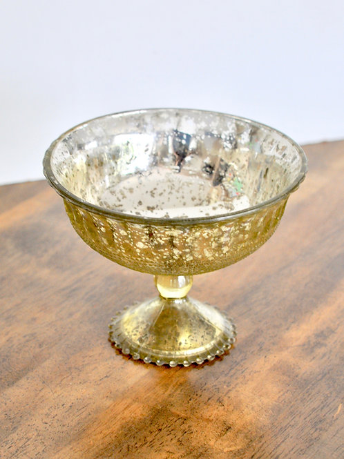 Antique Gold Bowl Vase