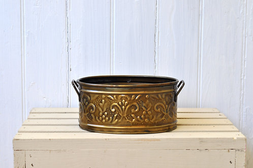 Antique Gold Basket