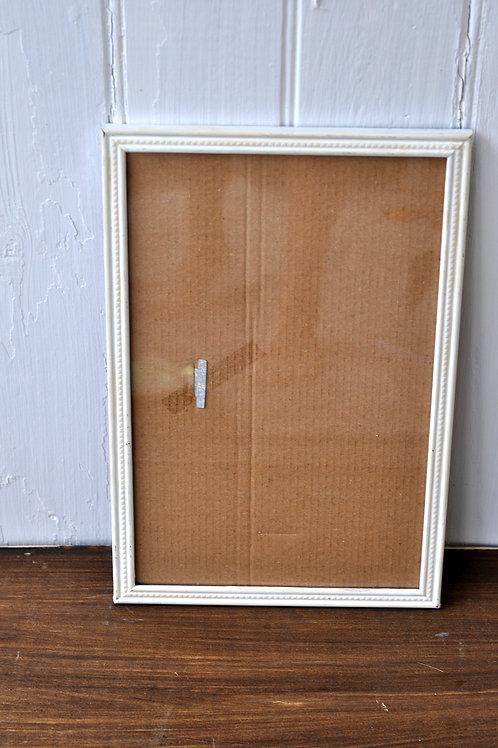 Long White Frame