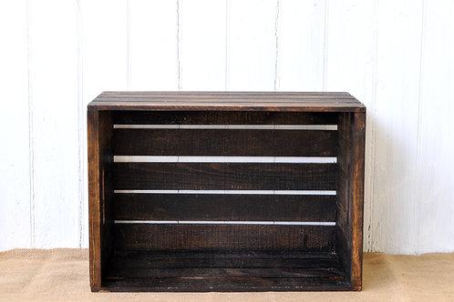 Dark Brown Crate