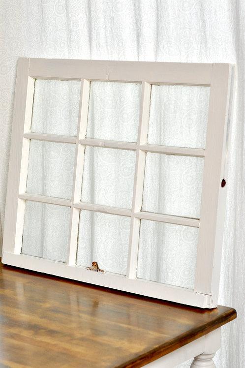 White Window- 9 Panes