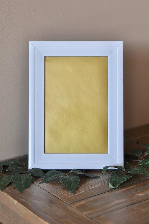 """White Frame 4"""" x 6"""""""