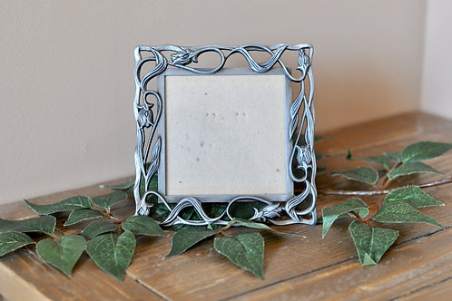 Small Silver Square Frame