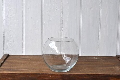 Small Glass Fish Bowl