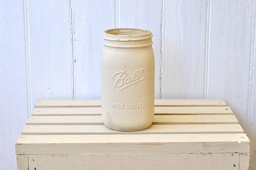 Ivory Mason Jar