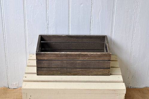 Small Brown Crate