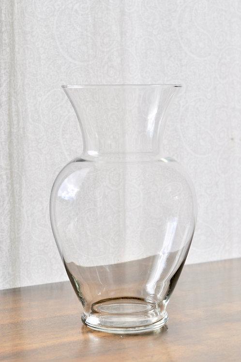 Clear Bouquet Vase Large
