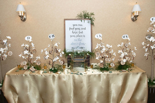 Champagne Rectangle Table Cloth