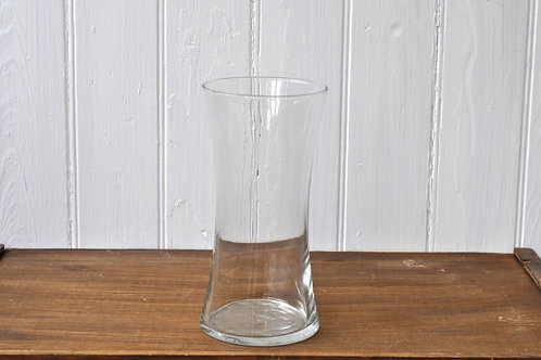 Curved Glass Vase