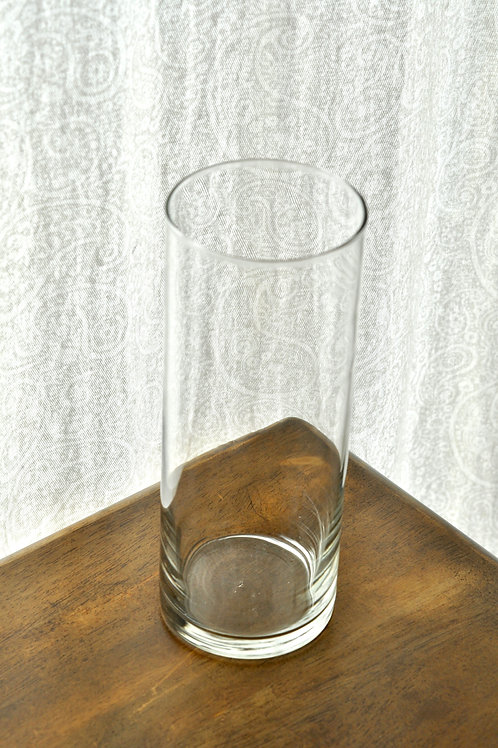 Clear Glass Cylinder 10""