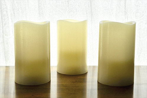 Battery Operated Pillar Candles