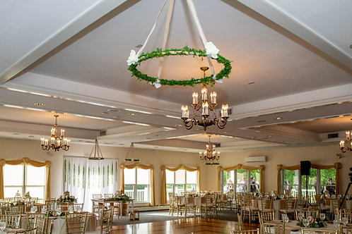 Moss & Rose Chandelier- Small