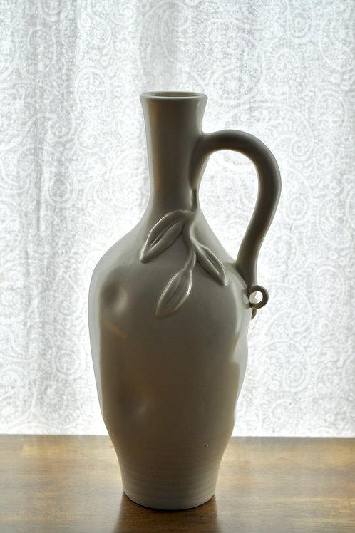 Ivory Leaf Vase