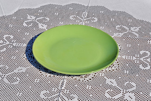 Solid Green Dinner Plates
