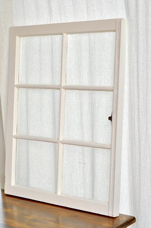 White Window- 6 Large Panes