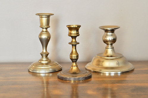 Brass Candle Holders- Small