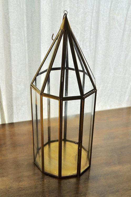 Gold Cone Lantern