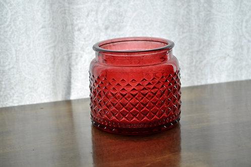 Red Circle Vase