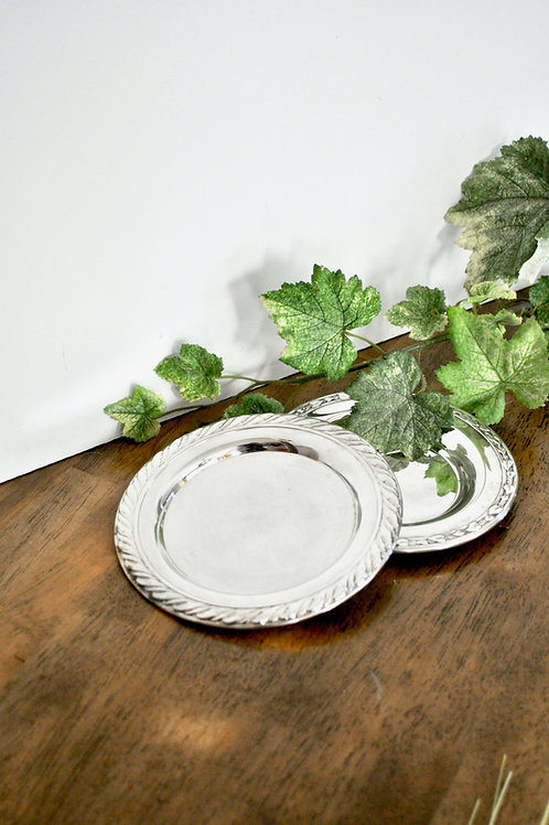 Antique Silver Small Dishes