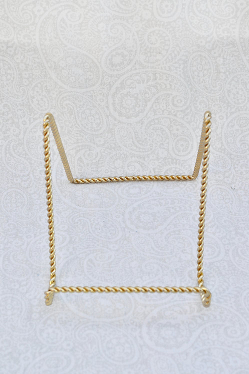 Gold Easel