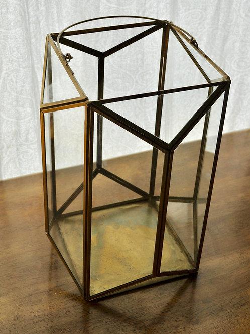 Gold Rectangle Lantern