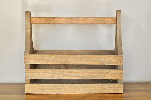 Wood Caddy Crate