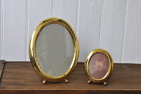 Gold Oval Frames