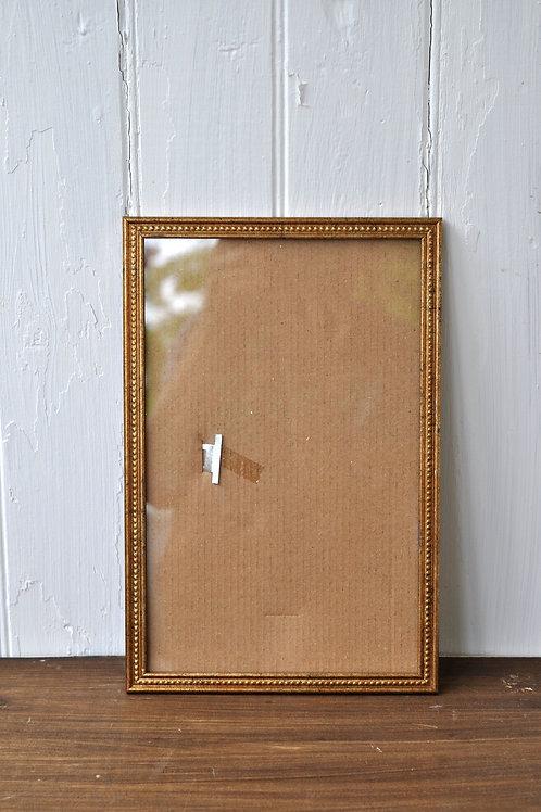 Long Gold Frame