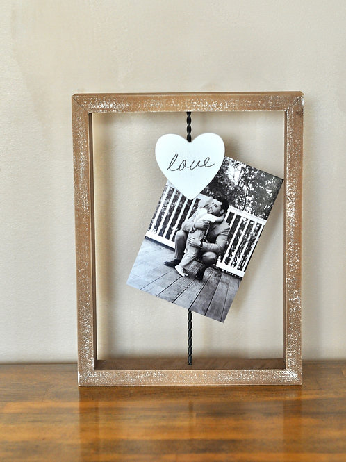 Love Wire Picture Frame