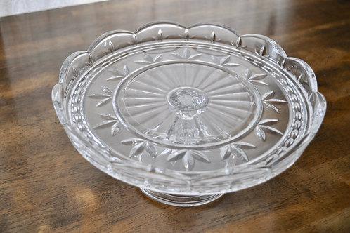 Glass Cake Platter