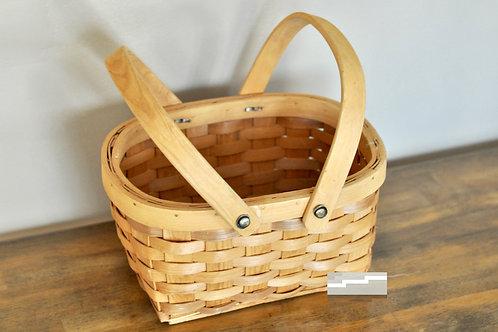 Tan Wicker Basket 02