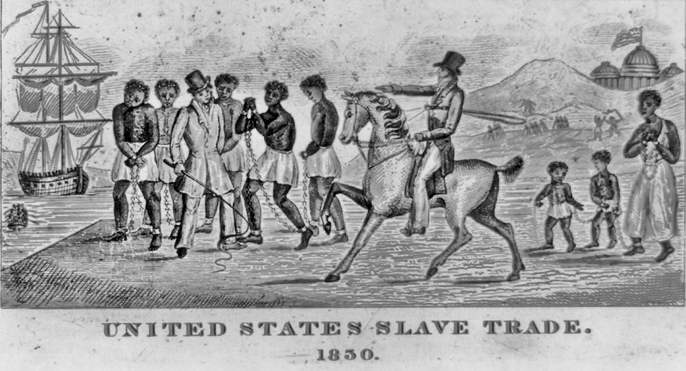 US SLAVE TRADE 1830's