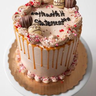 Online Ordered Cake