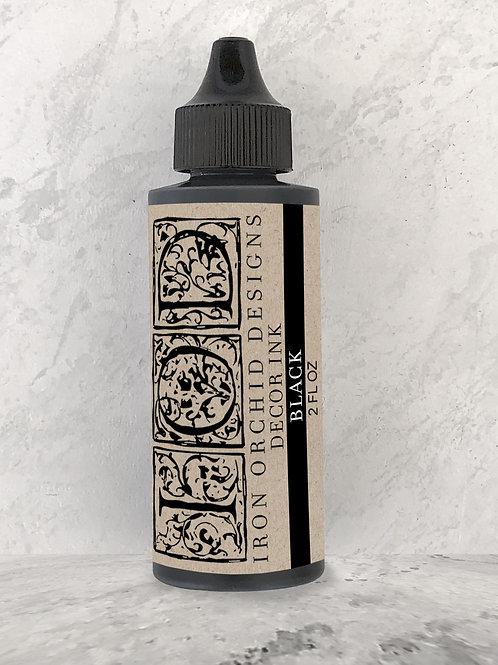 IOD Black Décor Ink